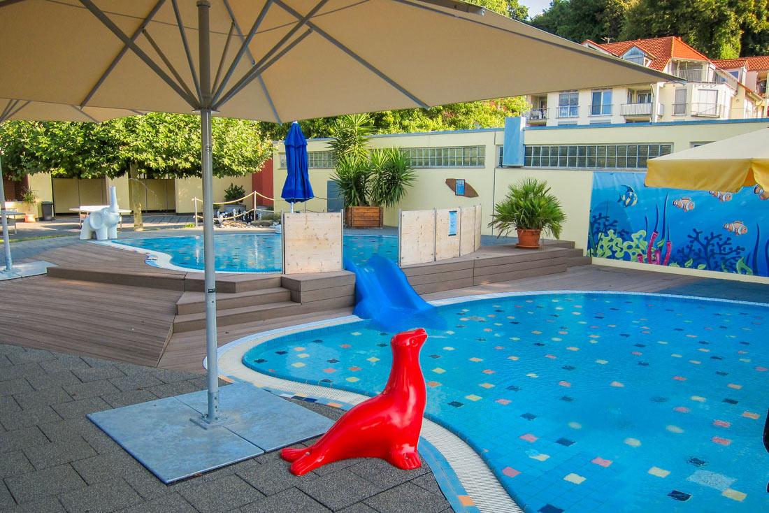 Kinderschwimmbecken im Frei- und Strandbad Meersburg