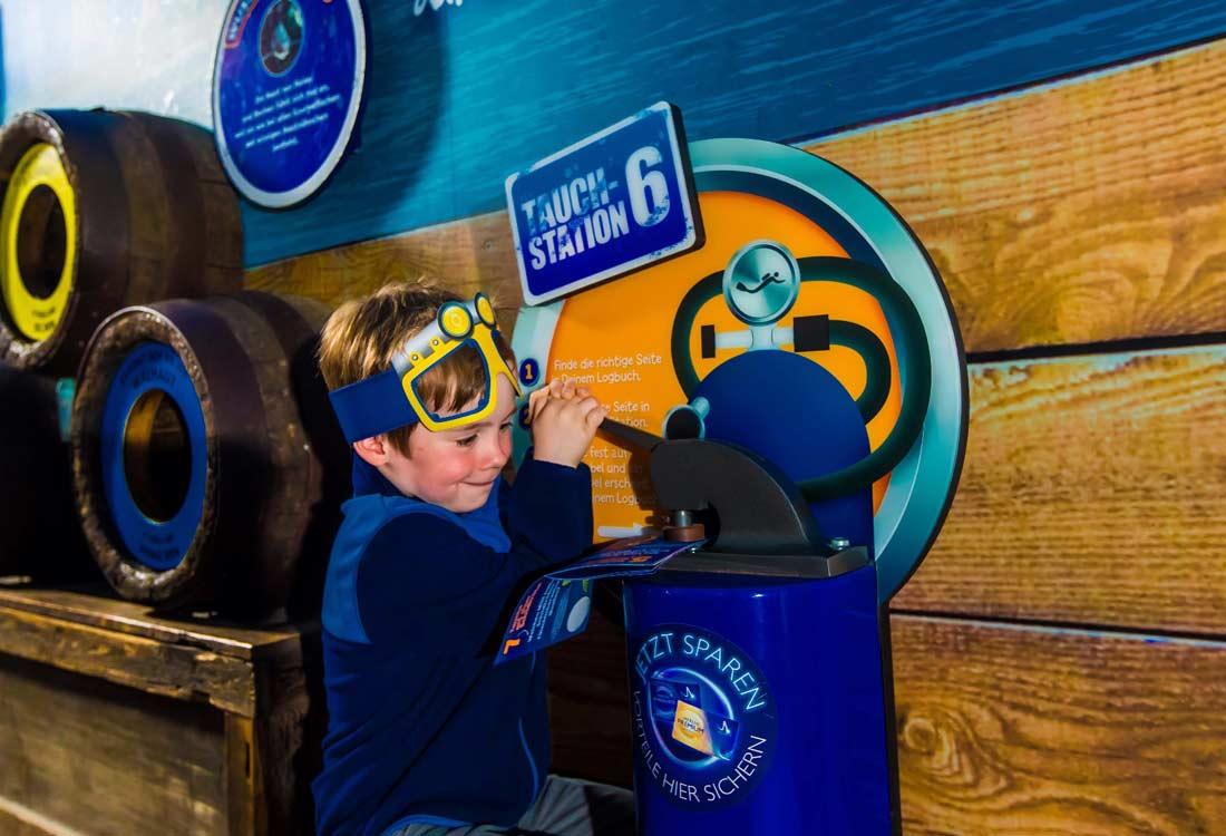 Interaktiver Spaß für Kinder im Sea Life in Konstanz