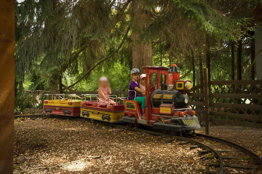 Mini-Kindereisenbahn für die ganz Kleinen