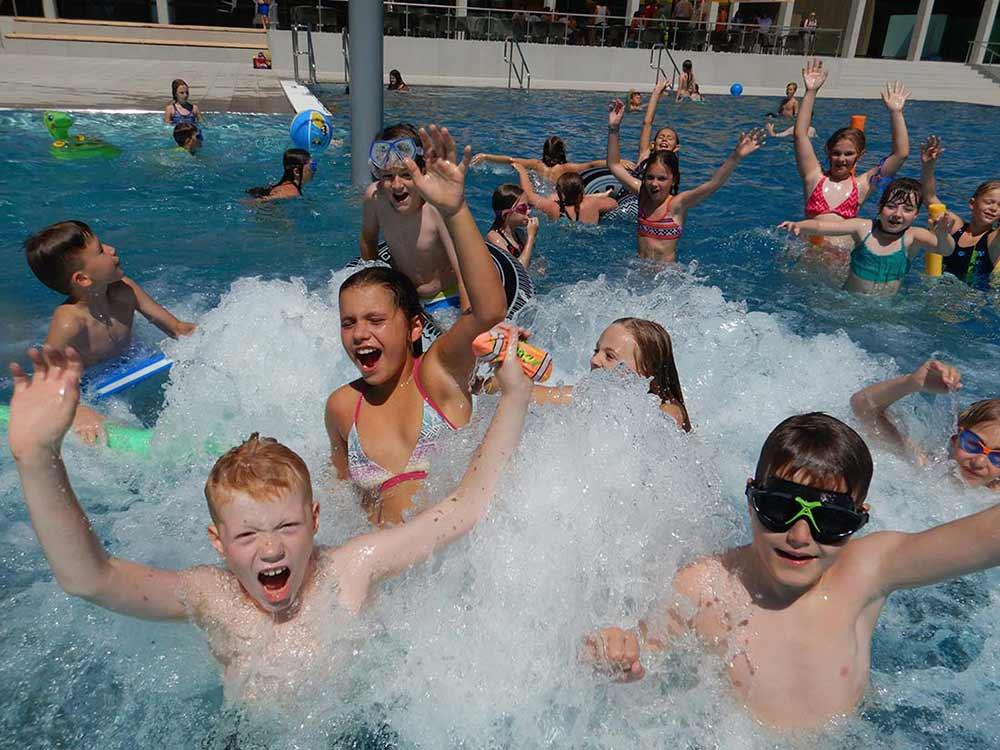 Jede Menge Action für Kinder im Frei- & Seebad Fischbach direkt am Bodensee