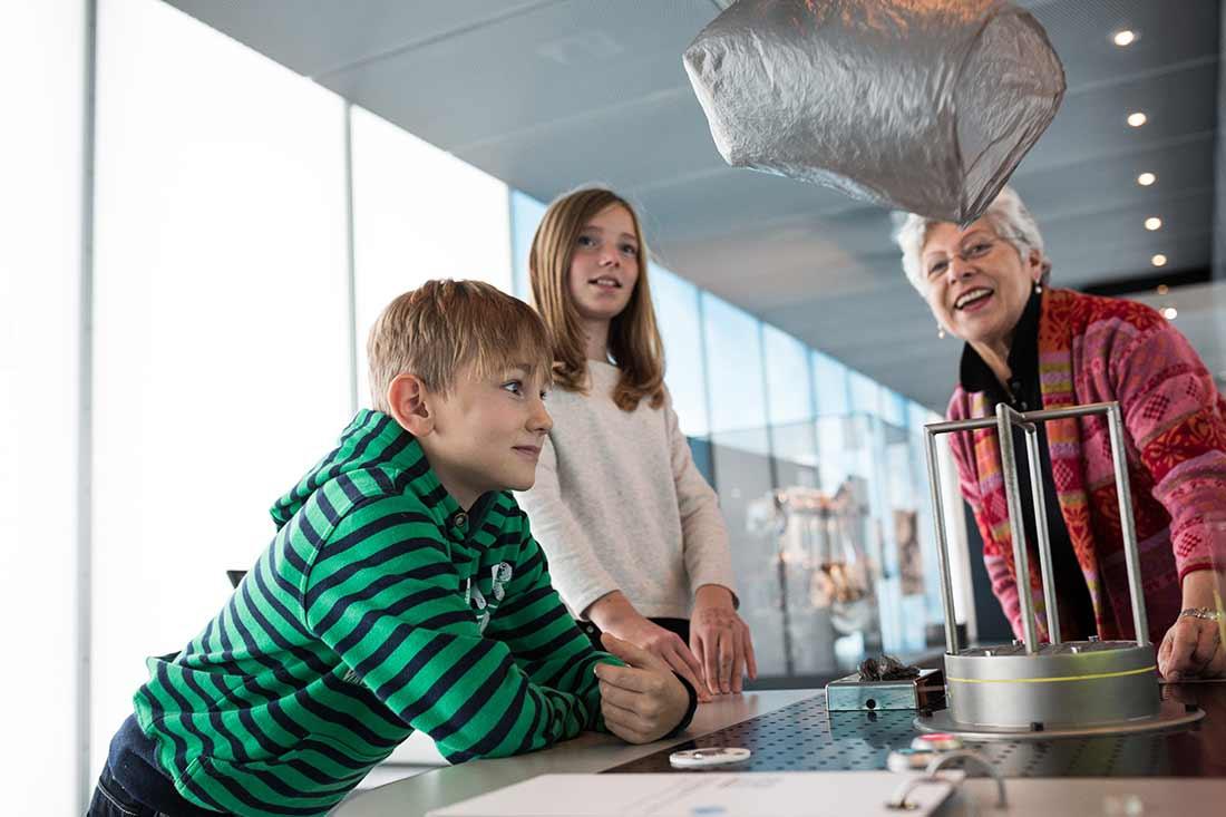 Kinderführungen im Zeppelin Museum in Friedrichshafen am Bodensee