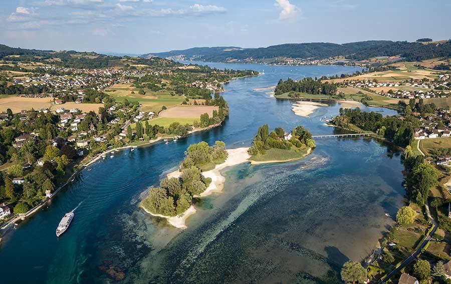 Insel Werd - Stein am Rhein am Bodensee