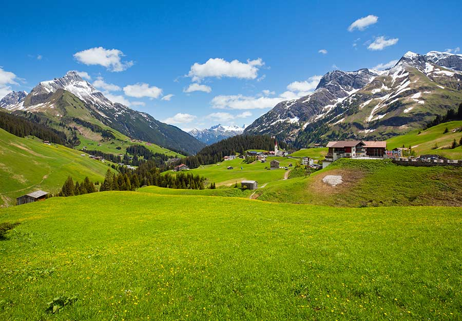 Vorarlberg in Österreich - Familienurlaub Bodensee